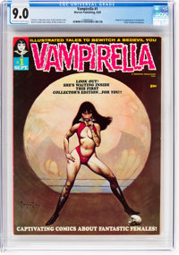 Vampirella #1 (Warren, 1969) CGC VF/NM 9.0 Off-white to white pages