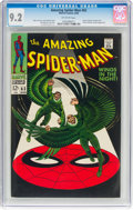 Silver Age (1956-1969):Superhero, The Amazing Spider-Man #63 (Marvel, 1968) CGC NM- 9.2 Off-whitepages....