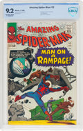 Silver Age (1956-1969):Superhero, The Amazing Spider-Man #32 (Marvel, 1966) CBCS NM- 9.2 Off-white towhite pages....