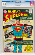 Silver Age (1956-1969):Superhero, Superman #183 (DC, 1966) CGC NM 9.4 Cream to off-white pages....