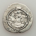 Ancients:Oriental, Ancients: SASANIAN KINGDOM. Varhran VI (AD 590-591). AR drachm (30mm, 3.93g, 3h). XF....