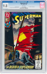 Superman #75 (DC, 1993) CGC NM/MT 9.8 White pages