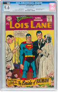 Silver Age (1956-1969):Superhero, Superman's Girlfriend Lois Lane #89 CVA Exceptional (DC, 1969) CGCNM+ 9.6 Off-white to white pages....