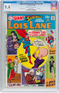 Silver Age (1956-1969):Superhero, Superman's Girlfriend Lois Lane #95 (DC, 1969) CGC NM 9.4 Cream tooff-white pages....