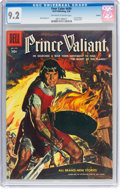 Silver Age (1956-1969):Adventure, Four Color #699 Prince Valiant (Dell, 1956) CGC NM- 9.2 Off-white to white pages....