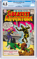 Silver Age (1956-1969):Superhero, My Greatest Adventure #80 (DC, 1963) CGC VG+ 4.5 Off-white...