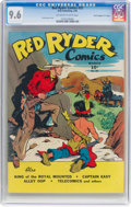 """Golden Age (1938-1955):Western, Red Ryder Comics #32 Davis Crippen (""""D"""" Copy) Pedigree (Dell, 1946) CGC NM+ 9.6 Off-white to white pages...."""