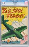 Golden Age (1938-1955):War, Tailspin Tommy #1 (Service Publications, 1946) CGC VF+ 8.5Off-white to white pages....