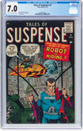 Silver Age (1956-1969):Science Fiction, Tales of Suspense #2 (Marvel, 1959) CGC FN/VF 7.0 Cream tooff-white pages....
