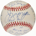 Autographs:Baseballs, Joe Morgan Single Signed Stat Baseball with 20 Inscriptions,Limited Edition 0235/1000. ...