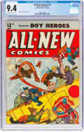 Golden Age (1938-1955):Adventure, All-New Comics #12 (Family Comics/Harvey Publications, 1946) CGC NM 9.4 Cream to off-white pages....