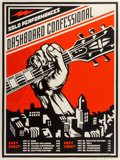 Prints & Multiples, Shepard Fairey (b. 1970). Dashboard Confessional, 2002. Screenprint in colors on . 24 x 18 inches (61 x 45.7 cm) (sheet)...