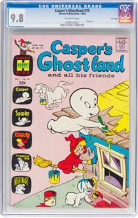 Casper's Ghostland #15 File Copy (Harvey, 1962) CGC NM/MT 9.8 Off-white pages