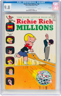 Silver Age (1956-1969):Cartoon Character, Richie Rich Millions #38 File Copy (Harvey, 1969) CGC NM/MT 9.8 Off-white to white pages....