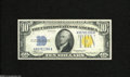 Small Size:World War II Emergency Notes, Fr. 2309 $10 1934A North Africa Silver Certificate. Choice New. A very well margined North Africa Ten that has good inks an...