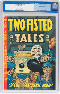 Two-Fisted Tales #31 Gaines File Pedigree (EC, 1953) CGC NM 9.4 Off-white to white pages