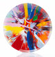 After Damien Hirst The Broad P1, c. 2009 Bone china 10-1/2 inch (26.7 cm) diameter Stamped to the reverse