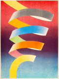 Prints & Multiples, James Rosenquist (1933-2017). Water Spout, 1971. Lithograph in colors on wove paper. 30 x 22-1/2 inches (76.2 x 57.2 cm)...