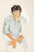 Prints & Multiples, Alice Neel (1900-1984). Th Youth, 1982. Lithograph in colors on Arches paper. 38 x 25 inches (96.5 x 63.5 cm) (sheet). E...