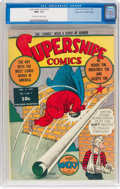 Golden Age (1938-1955):Adventure, Supersnipe Comics #7 Mile High Pedigree (Street & Smith, 1943) CGC NM+ 9.6 Off-white to white pages....
