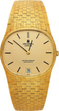 Timepieces:Wristwatch, Universal Geneve 18k Golden Shadow Automatic. ...