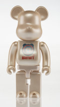 General Americana, BE@RBRICK . World Wide Tour MCT 400%, 2004. Painted castresin. 10-3/4 x 5 x 3-1/2 inches (27.3 x 12.7 x 8.9 cm). Stampe...