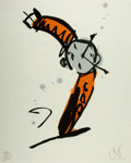 Prints & Multiples, Claes Oldenburg (b. 1929). Wrist Watch Rising, from The Art Pro Choice II Print Portfolio, 1991. Woodcut in colors o...