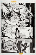 Original Comic Art:Panel Pages, Howard Porter and John Dell JLA #5 Page 12 Original Art (DC,1997)....