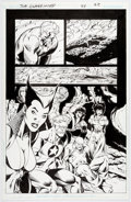 Original Comic Art:Panel Pages, Tom Derenick and Mark Farmer JLA: Classified #24 Page 22Original Art (DC, 2006)....