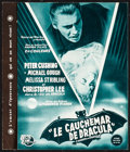 """Movie Posters:Horror, Horror of Dracula (Universal International, 1958). French Program(4 Pages, 9"""" X 10.5""""). Horror.. ..."""
