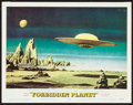 Movie Posters:Science Fiction, Forbidden Planet (MGM, 1956). Very Fine-. Lobby Ca...