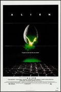 Movie Posters:Science Fiction, Alien (20th Century Fox, 1979). Folded, Very Fine-.
