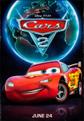 """Movie Posters:Animation, Cars 2 (Walt Disney Pictures, 2011). Rolled, Very Fine-. BusShelters (4) (approx. 47.5"""" X 68.5"""") SS Advance, 4 Styles. Anim...(Total: 4 Items)"""