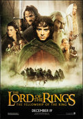 "Movie Posters:Fantasy, The Lord of the Rings: The Fellowship of the Ring (New Line, 2001). Rolled, Very Fine. Bus Shelter (47.25"" X 68.25"") DS Adva..."