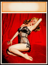 """Marilyn Monroe """"The Lure of Lace"""" (Champion Line, 1955). Rolled, Very Fine-. Calendar Sample Art (12"""" X 1..."""