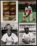 Autographs:Photos, Lou Brock Signed Image Lot of 8.... (Total: 8 items)
