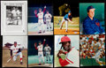Autographs:Photos, Baseball Greats Signed Image Lot of 8....