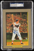 Autographs:Post Cards, 1988 Brooks Robinson Signed Perez-Steele Great Moments #39, PSA/DNA MT 9. ...