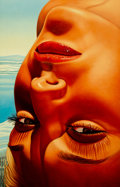 Fine Art - Work on Paper:Print, Richard Phillips (American, 1962). Der Bodensee, 2010. Ink jet print on canvas. 40 x 25-3/4 inches (101.6 x 65.4 cm). Si...