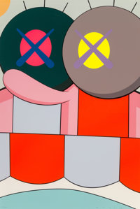 KAWS (American, b. 1974) Untitled, from Blame Game, 2014 Screenprint in colors on Saunder