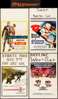 Movie Posters:War, The Longest Day & Others Lot (20th Century Fox, 1962). Fin...
