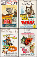 """Movie Posters:Comedy, Son of Flubber & Others Lot (Buena Vista, 1963). Folded,Fine/Very Fine. Window Cards (21) (14"""" X 22""""). Comedy.. ... (Total:21 Item)"""