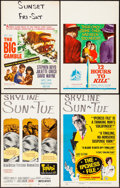 "Movie Posters:Foreign, Topkapi & Others Lot (United Artists, 1964). Fine/Very Fine. Window Cards (12) (14"" X 22""). Foreign.. ... (Total: 12 Items)"