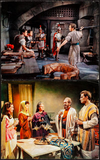 """Ben-Hur (MGM, 1959). Jumbo Deluxe Lobby Cards (7) (16"""" X 20""""). Academy Award Winners. ... (Total: 7 Items)"""