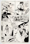 Original Comic Art:Panel Pages, Joe Staton and Mike DeCarlo Green Lantern #153 Story Page 8Original Art (DC, 1982)....
