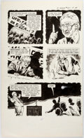 Original Comic Art:Panel Pages, Adolpho Buylla The Twilight Zone #60 Partial Story OriginalArt Group of 3 (Gold Key/Western...