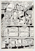 Original Comic Art:Panel Pages, Curt Swan and Dave Hunt Superman #371 Story Page 7 OriginalArt (DC, 1982)....