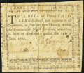Colonial Notes:North Carolina, North Carolina July 14, 1760 30s Fine-Very Fine.. ...
