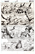 Original Comic Art:Panel Pages, Gil Kane and P. Craig Russell Marvel Fanfare #11 Story Page7 Original Art (Marvel, 1983)....