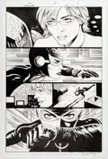 Original Comic Art:Panel Pages, Paul Gulacy and Jimmy Palmiotti Catwoman #35 Story Page 7Original Art (DC, 2004)....